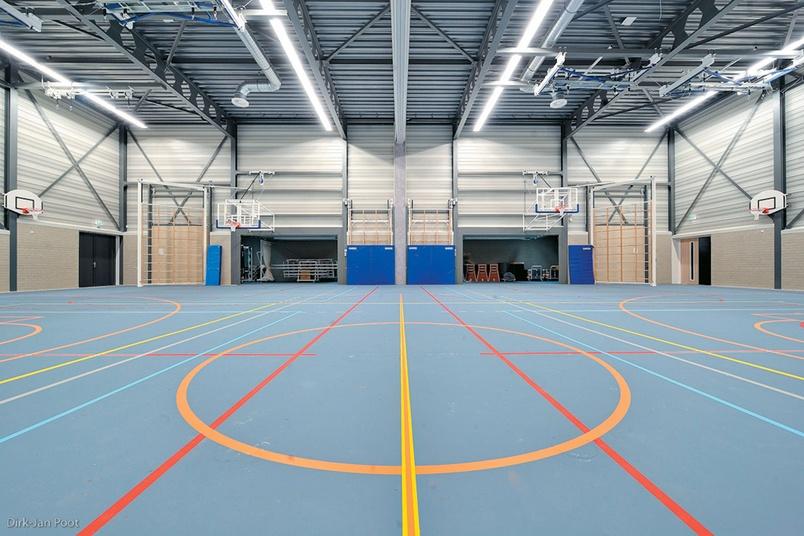 Descol Pulastic sports flooring system