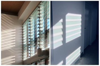 Light and Shadow when using Altair Louvre Windows