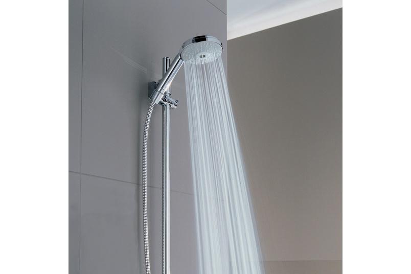 RHS Cosmo slide shower.