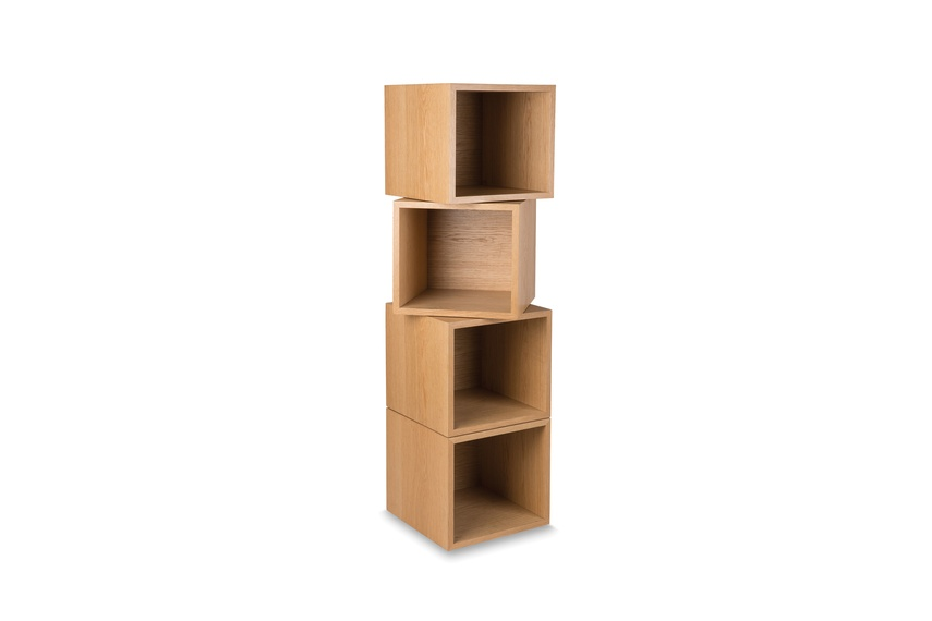 Connect storage with four boxes.