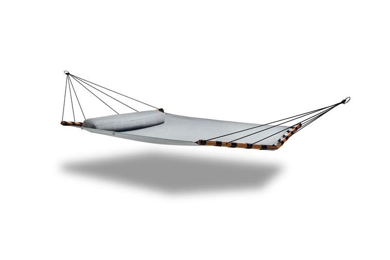 Double Isla hammock (lead chine).