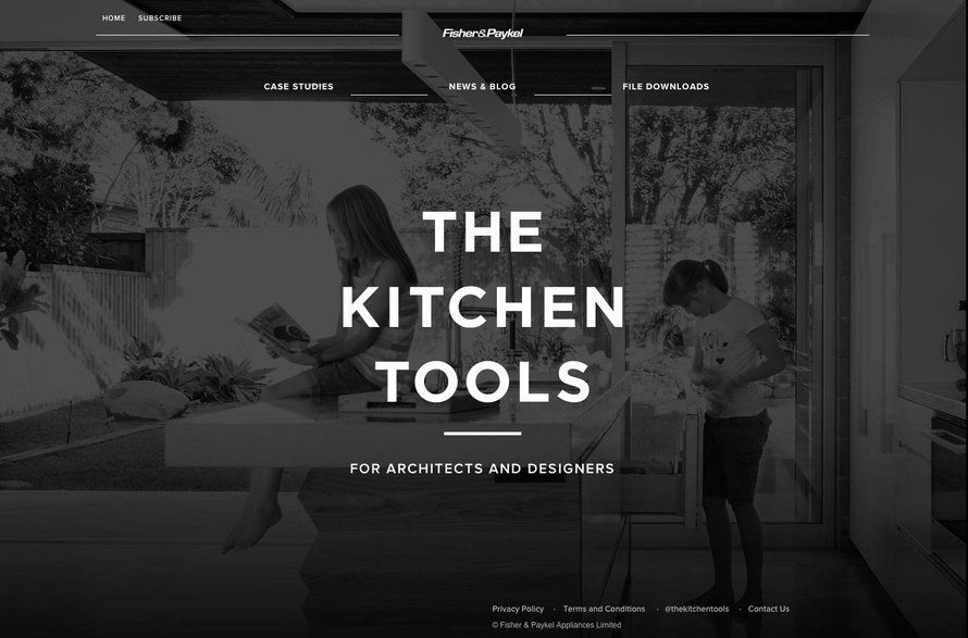 Fisher & Paykel Appliances has launched The Kitchen Tools
