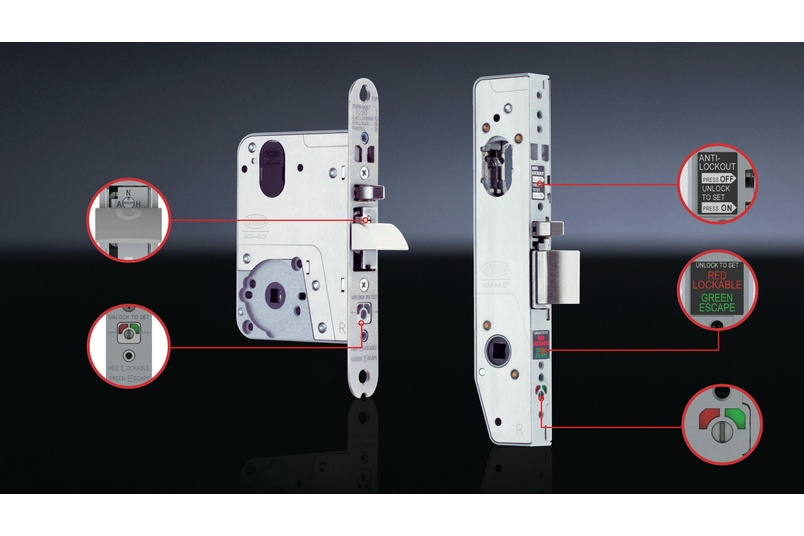 Lockwood Selector® 3700 Series Mortice Lock.