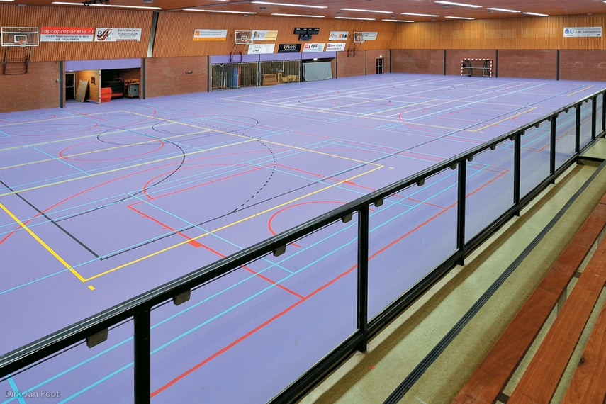 Multifunctional sports facility