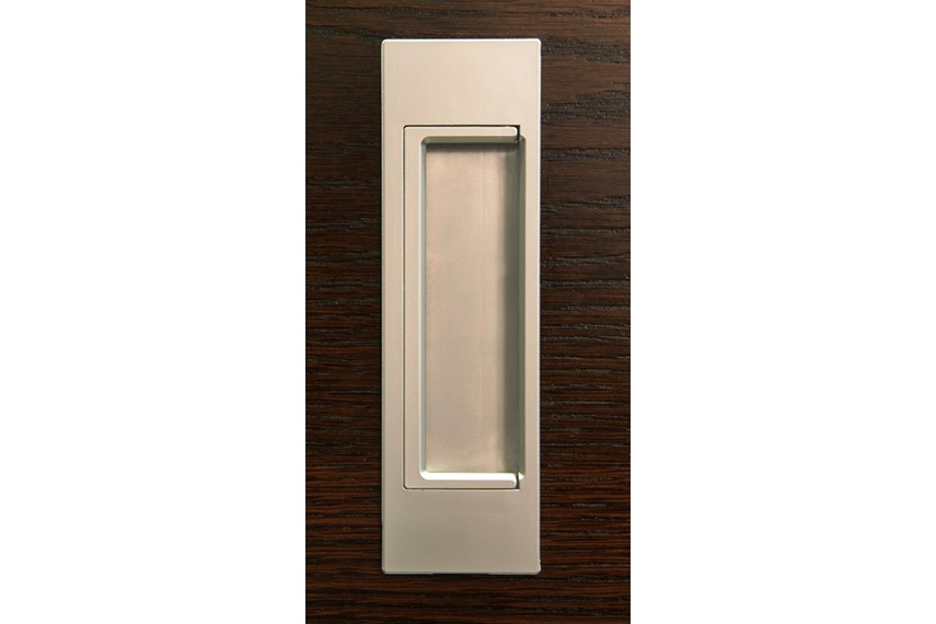 HB679 D flush pull handles are suitable for sliding doors, pivot, or bi-fold doors and cabinetry.