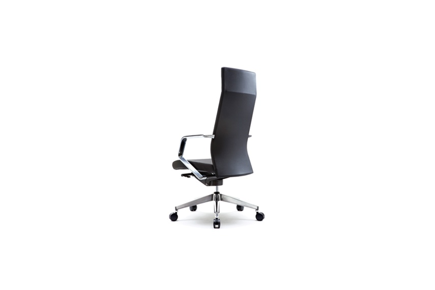 The slim and elegantly designed Khyber chair fits well anywhere.