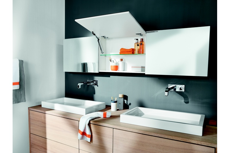 Blum has a range of many opening styles to suit a wide range of applications, heights and widths.