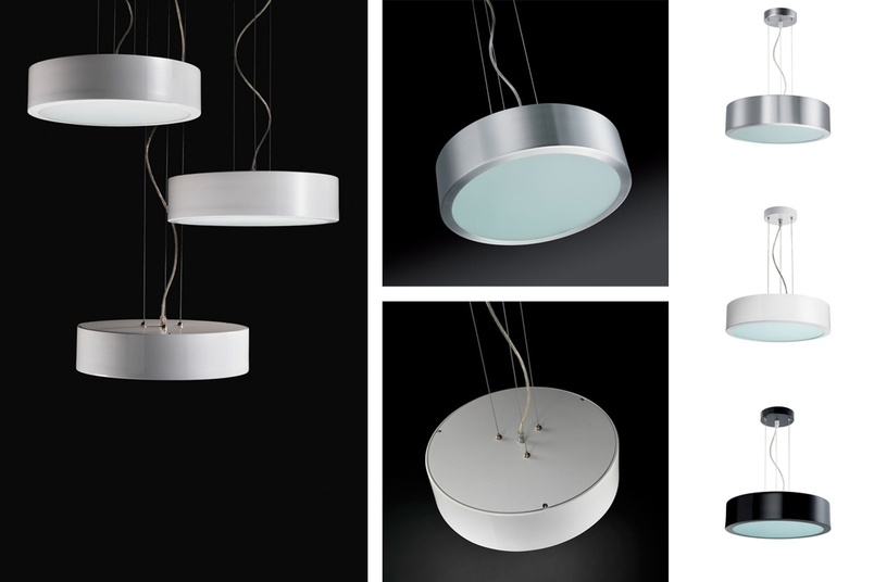 The Matrix pendant has a suspension system of up to 2.5m