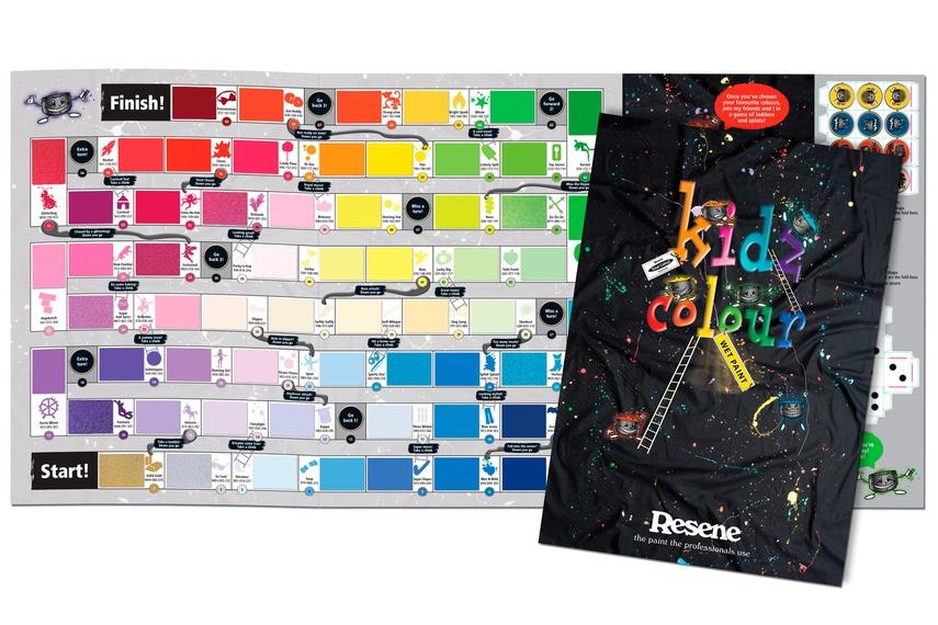 KidzColour colour chart