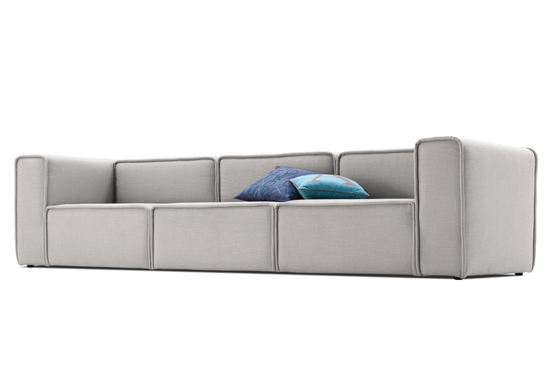 Carmo Modular Sofa System Shown In Ice Goya