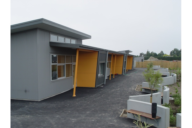 Rolleston School, Canterbury using Kingspan's Trapezoidal Roof Panel (KS1000RW) and  Architectural Wall Panel (Micro-rib).  Kingspan insulated wall panels offer architects unprecedented freedom of design.