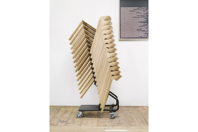 Merano chair stacked.