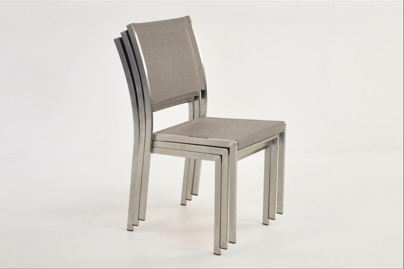 Classic Batyline stacking chair
