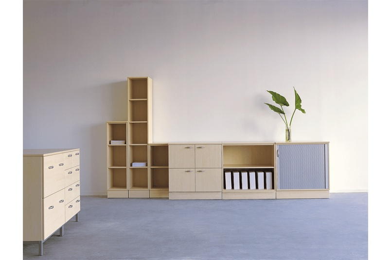 Flexible, space-saving storage