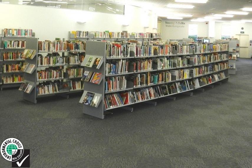 Hydestor library shelving