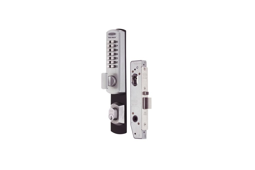 Lockwood Selector® 3782 Short Backset Key Override DX Digital Mortice Locks.