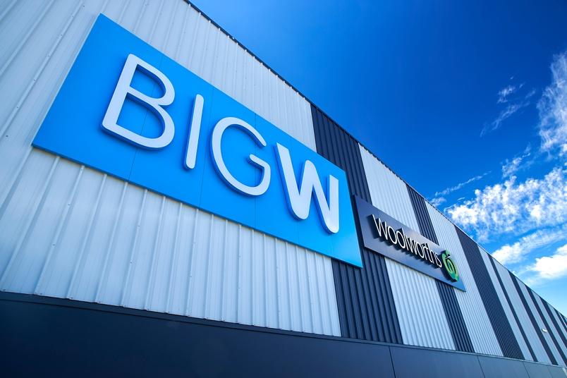 Craigieburn Shopping Centre, Melbourne, Australia using Kingspan's BENCHMARK Evolution Axis Design Wall Series , Architectural Wall Panel, (Wave and Plank), Trapezoidal Wall Panel (KS1000 RW).