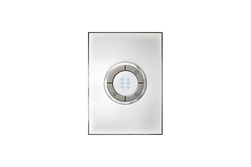 Arteor electronic micropush switch in mirror white