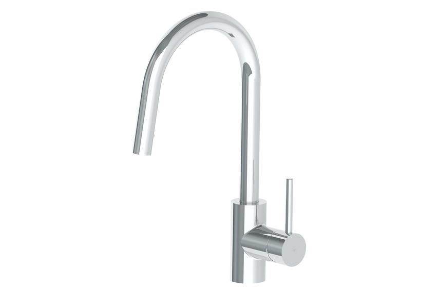 Zeon pull-down sink mixer.