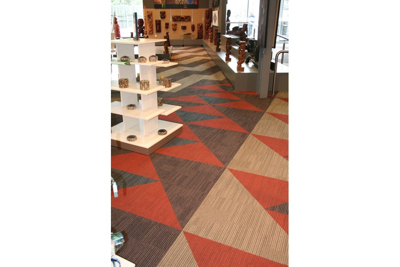 Equilibrium II carpet tile – all design elements