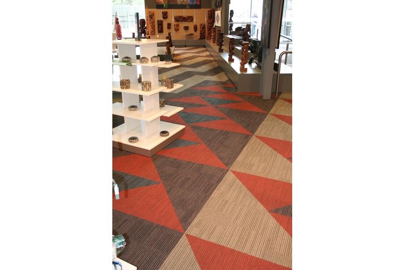 Equilibrium II carpet tile –all design elements
