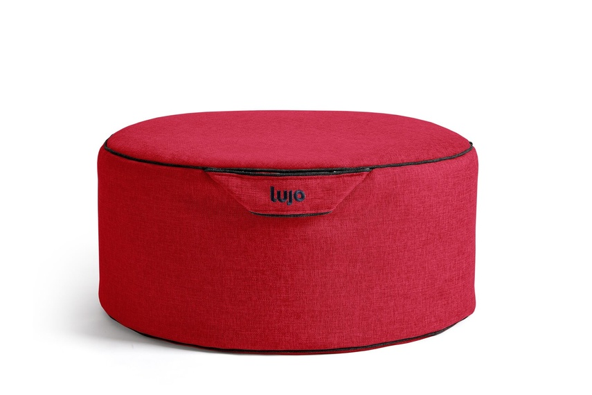 Tulum small ottoman (indoor/flame).
