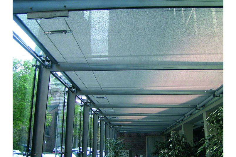 Silent Gliss – skylight shading systems