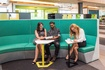 Huddle modular soft seating with Play table.