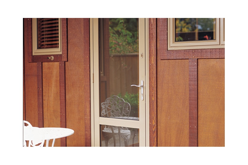 Hinged doors are a useful everyday in/out door