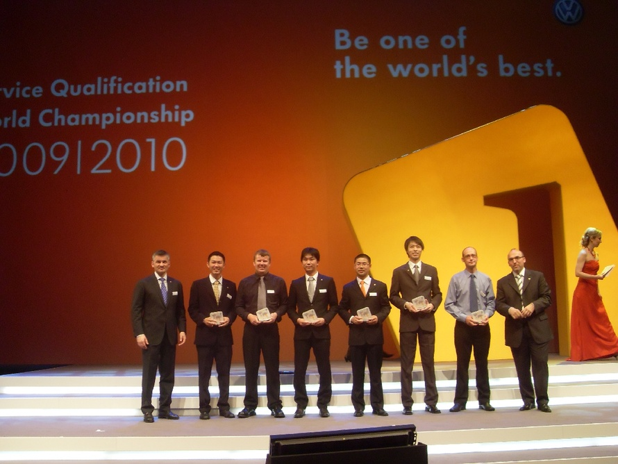 2010 Volkswagen Service Qualification World Champions honoured