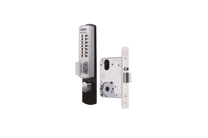 Lockwood Selector® 3772 Key Override DX Digital Mortice Locks.