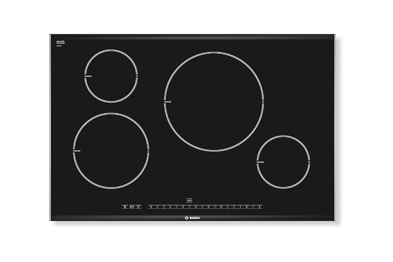 80cm induction cooktop.