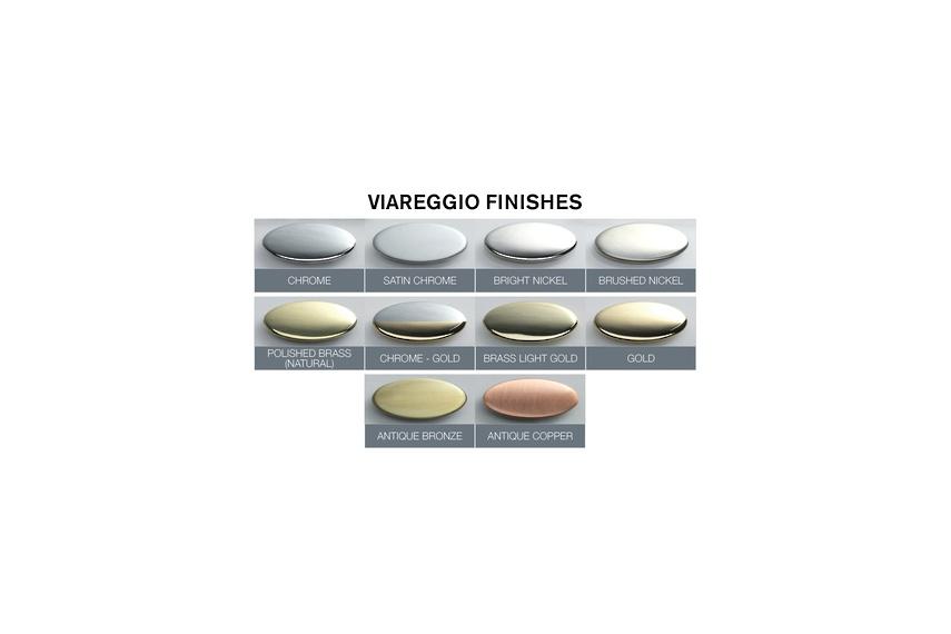 Viareggio tapware colour range