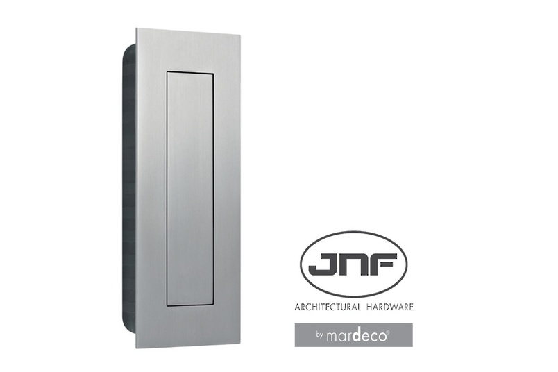 JNF stainless steel flush pull