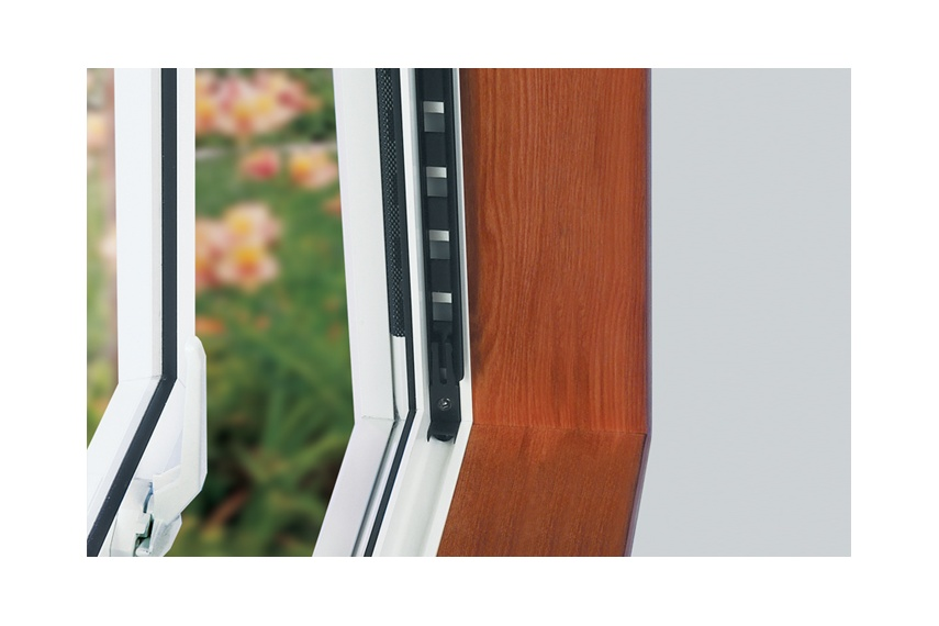 Passive ventilation vents with mesh insect barriers allow homes to breathe all year round