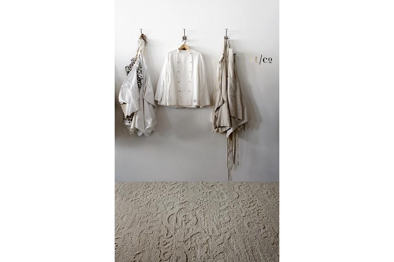 Narratives carpet tile collection.