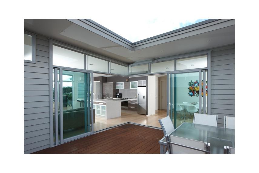 Eurostacker sliding door system by altus windows selector for Sliding glass doors nz