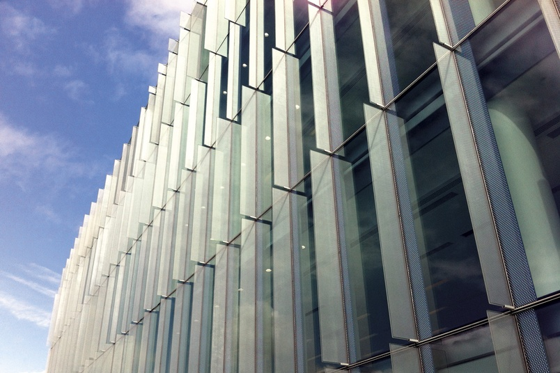 Sefar Architecture Vision Laminated Glass By Viridian