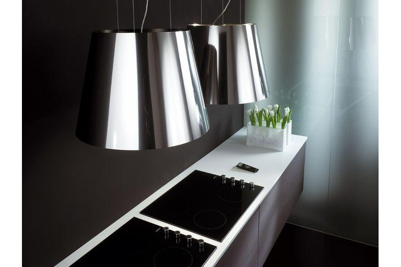 Twin Platinum rangehood by Elica