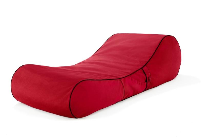 Tulum lounger (outdoor/jockey red).