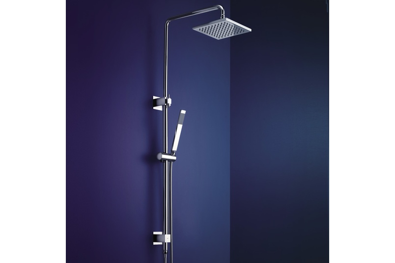 Dorf Jovian rail shower with overhead