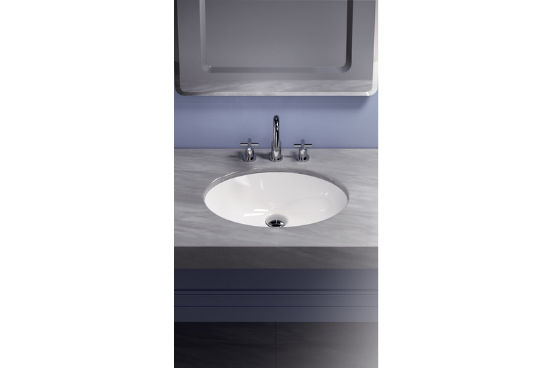 Ellipse Undermount Basins By Plumbline Selector
