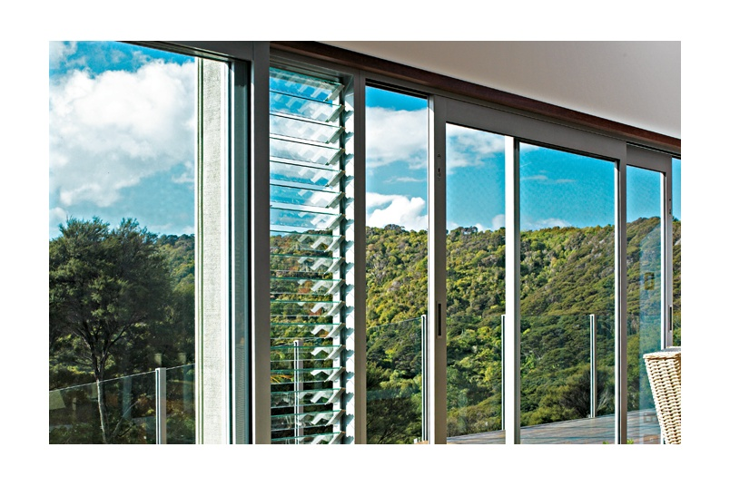 Louvres are an ideal addition to any window or door configuration