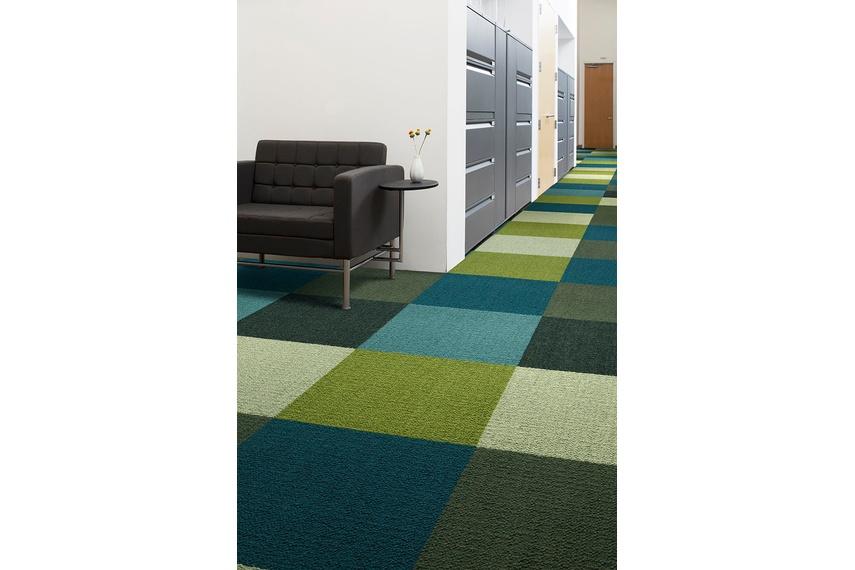 Monochrome carpet tile –Multicolour