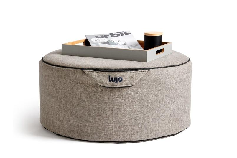 Tulum ottoman (indoor).